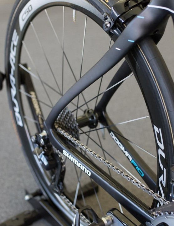 The Dogma F10's rear stays
