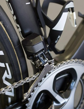 A closer look at the front mech