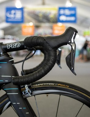 PRO components supplies Team Sky's finishing kit