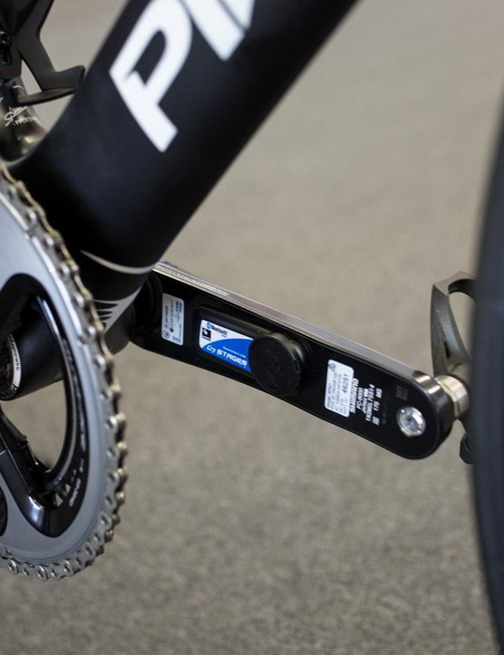It seems Team Sky decided against bringing the new cranks and power meters to the Tour Down Under