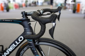 Shimano updated the ergonomics for the new 9170 shifters