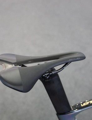Peter Sagan opts for a S-Works Romin Evo saddle