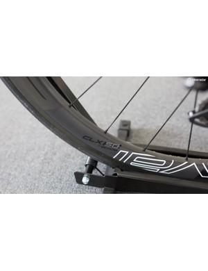 McCarthy rolls on Roval CLX50 wheels