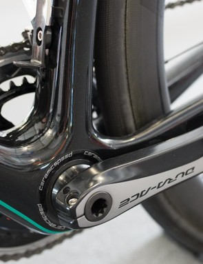 CeramicSpeed provides the headset and bottom bracket
