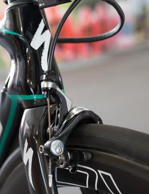 A closer look at the Shimano Dura-Ace front brake
