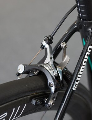 A closer look at the seat stays