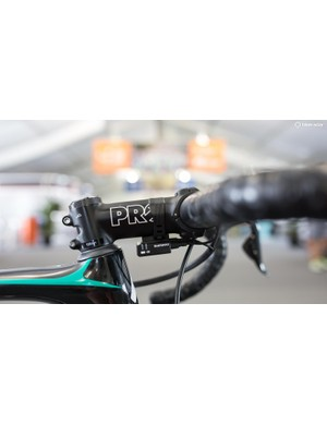 The Di2 junction box is held underneath the stem