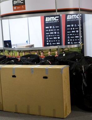 How much stuff do you need for a WorldTour stage race? An awful lot