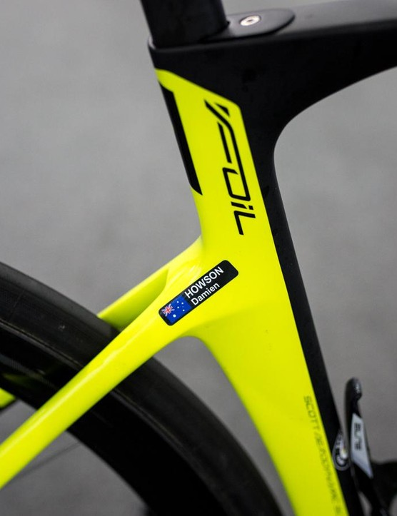 Neat finish on the seat stays