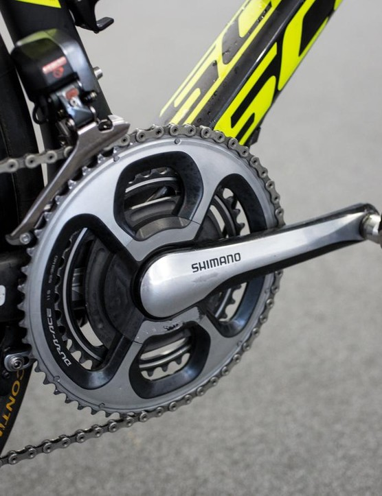 Orica-Scott is equipped with SRM power meters