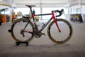 Ben Swift's new Colnago C60