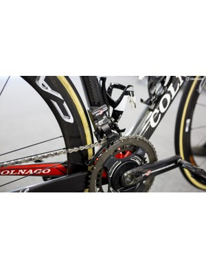 As is the front derailleur