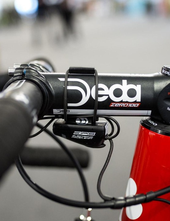 Swift's Deda Zero100 stem is made from alloy and measures 130mm