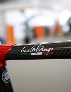 Especially with Ernesto Colnago's signature adorning the toptube
