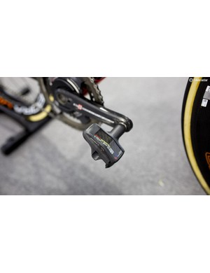 Every component on Swift's bike is Italian, except for the French Look Keo Blade Carbon Pedals