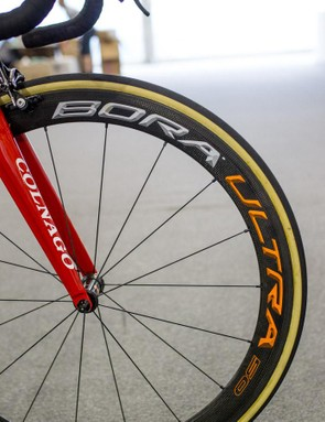 Swift will be rolling on 50mm carbon rims...