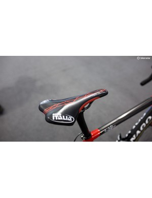 Swift's saddle of choice is the Selle Italia SLR Team Edition