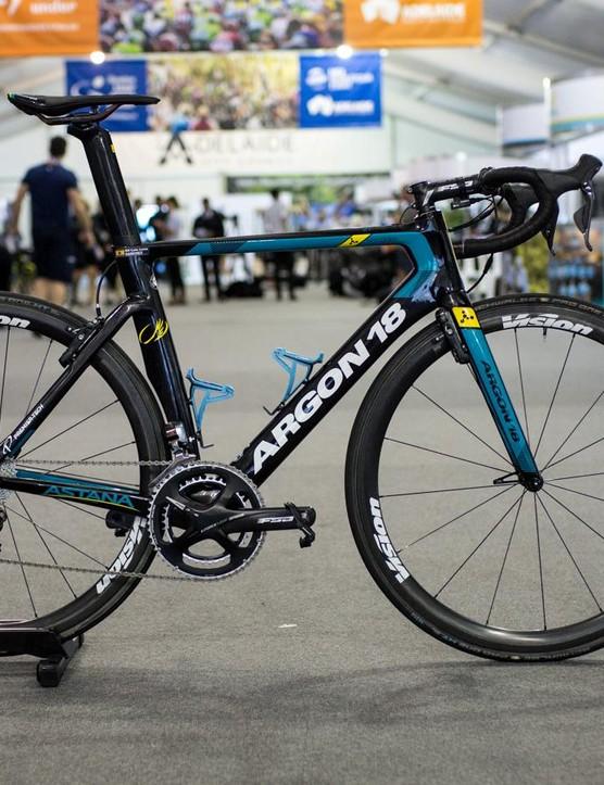 Luis Leon Sanchez's Argon 18 Nitrogen Pro