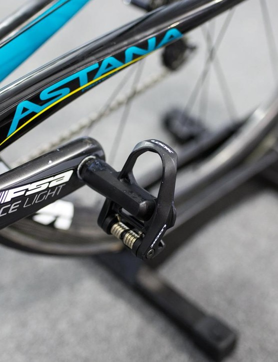 Look Keo pedals for Sanchez