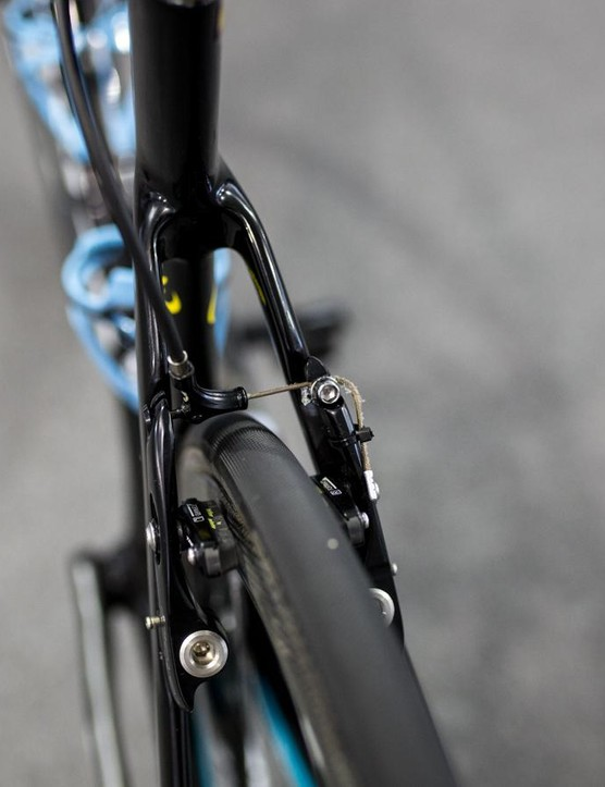 Neat direct-mount brakes from TRP
