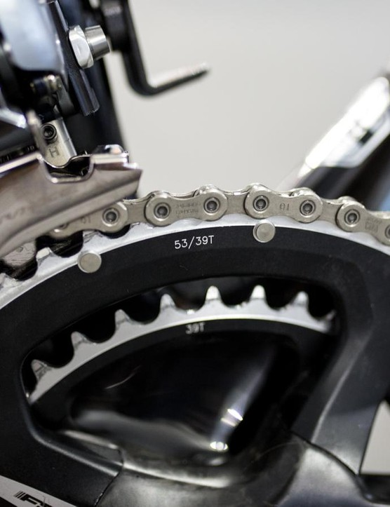 Standard sized chainrings for Sanchez