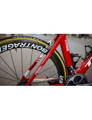 The Madone Race Shop Limited frames receive Trek's more aggressive H1 geometry