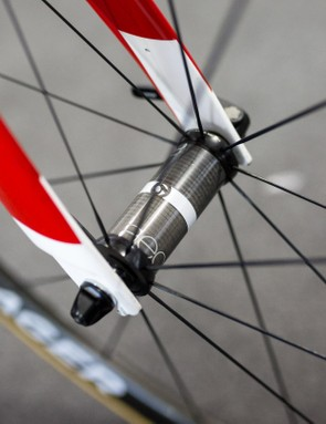 The Aeolus 5s spin around carbon hubs