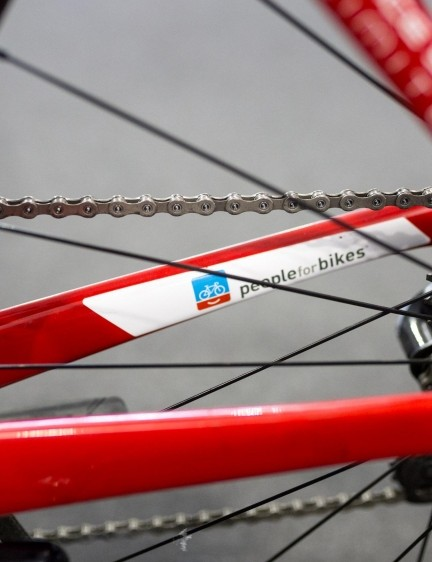 Trek-Segafredo is supported by People For Bikes