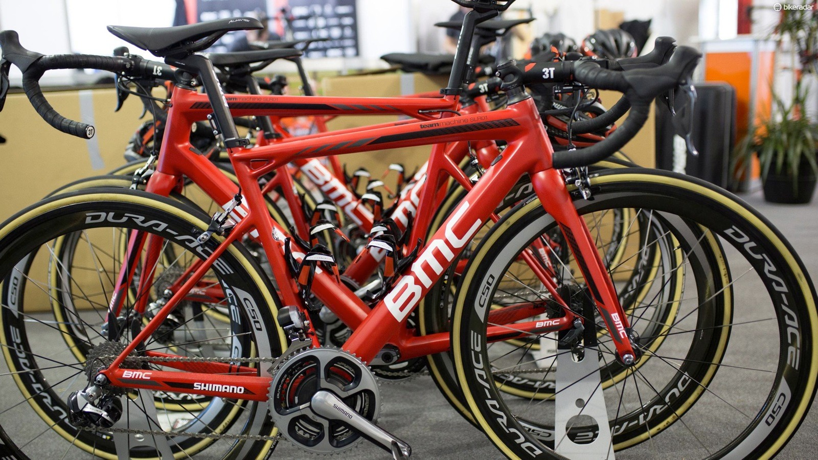 Each WorldTour team brought two bikes for every rider to Australia