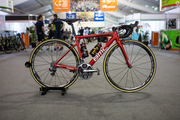 Richie Porte's BMC Teammachine SLR01