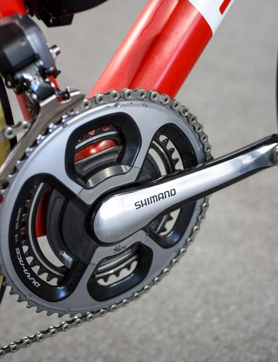 Shimano Dura-Ace crankset and a SRM power meter