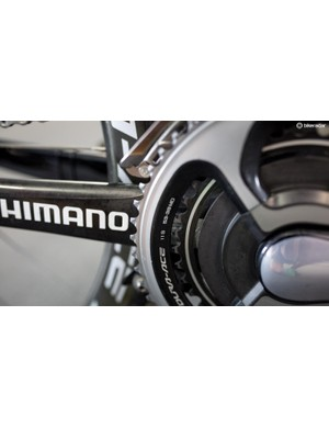 Pretty much all the riders in Adelaide are running 53/39T chainrings