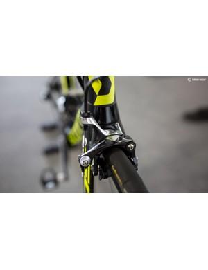 The new Foils utilise a direct mount Shimano Dura-Ace brakes