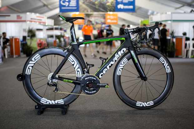 Check out Mark Renshaw's Cervélo S5