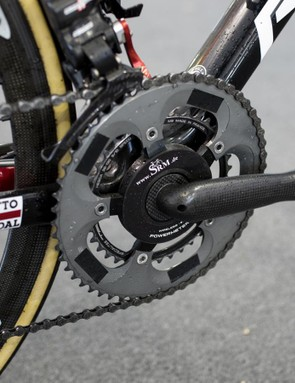 The bizarre crank, powermeter and chainring combination