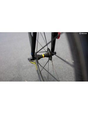 Mavic Cosmic hubs are pretty aero