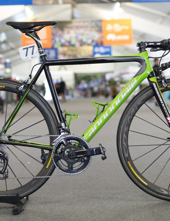 Alex Howes' Cannondale SuperSix EVO