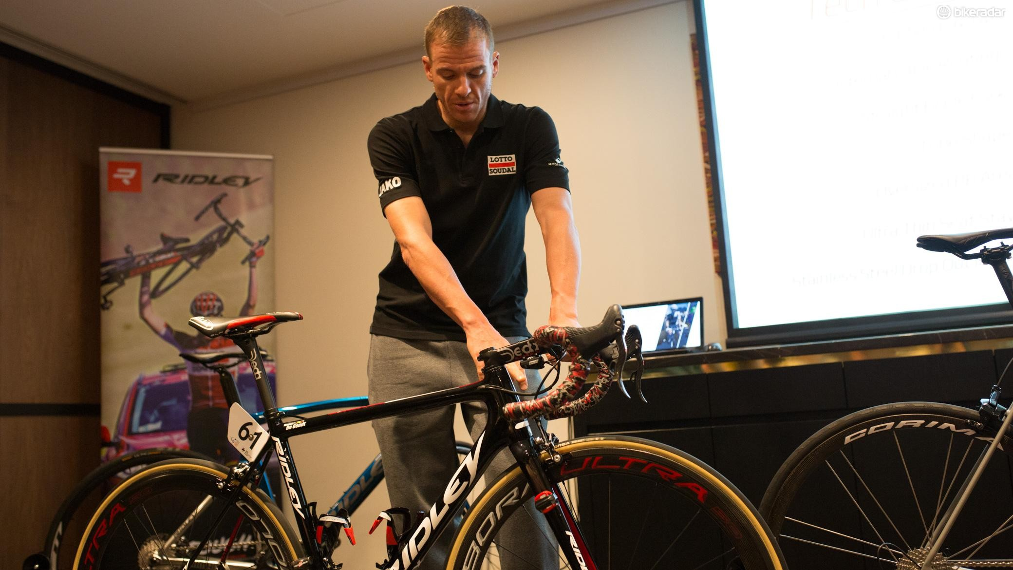 Adam Hansen said in no uncertain terms, the Helium SLX is the best bike he has ever ridden