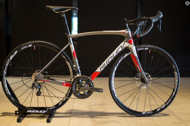 Ridley unveiled the Fenix SL Disc at the Tour Down Under