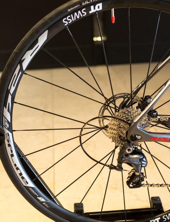 And DT R24 DB Spline wheels