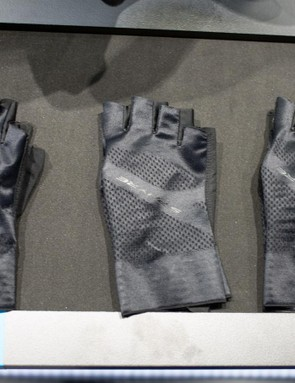 The gloves are designed around the ergonomics of a Shimano road shifter