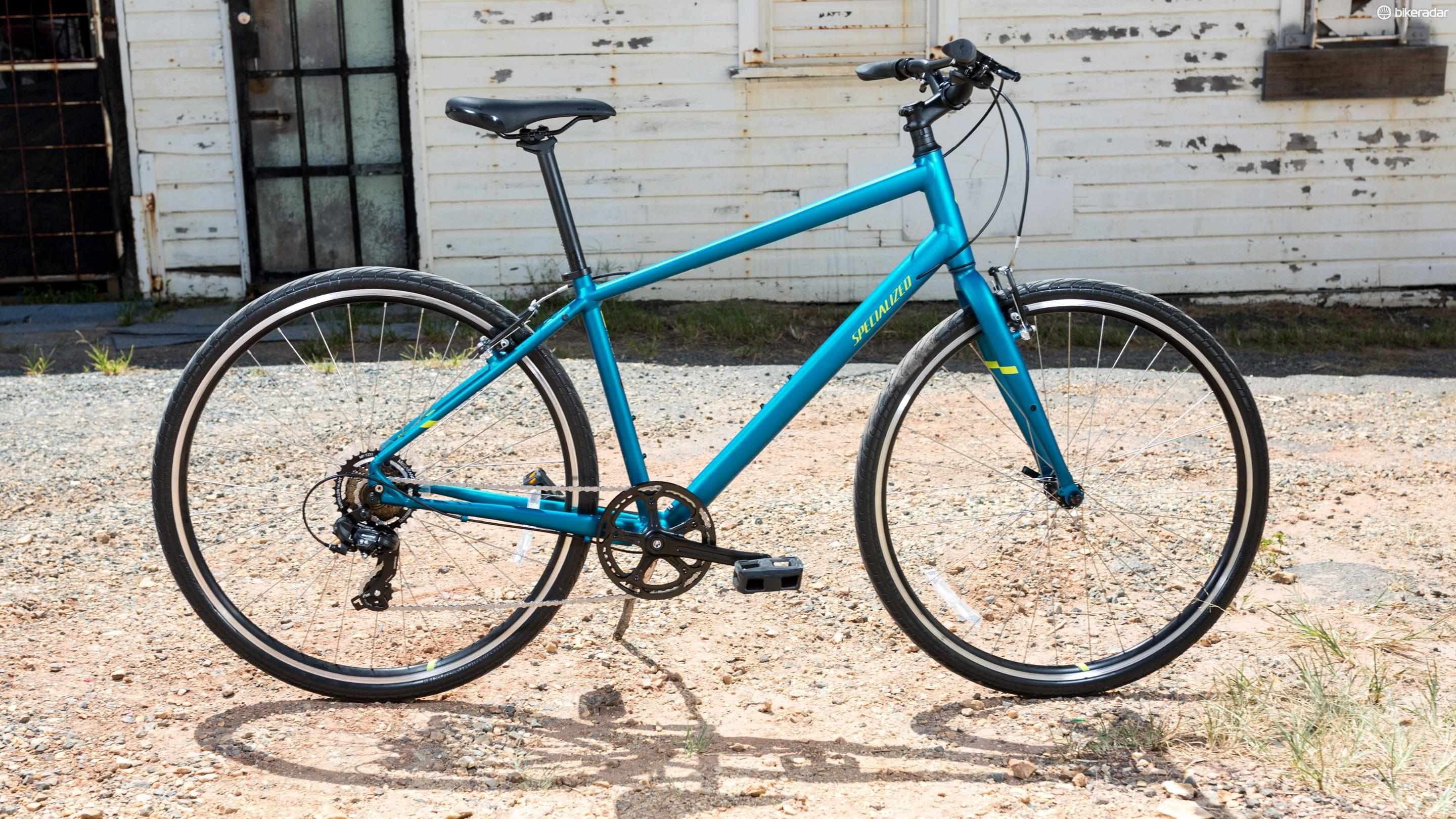 Specialized's Alibi is a fuss-free fitness or commuter bike