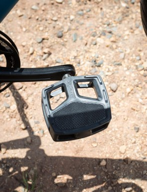 The City Platform pedals offer tons of surface area for a good connection with your foot
