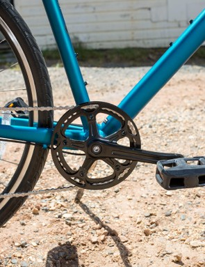 The 1x drivetrain gets rid of the front derailleur and keeps things simple