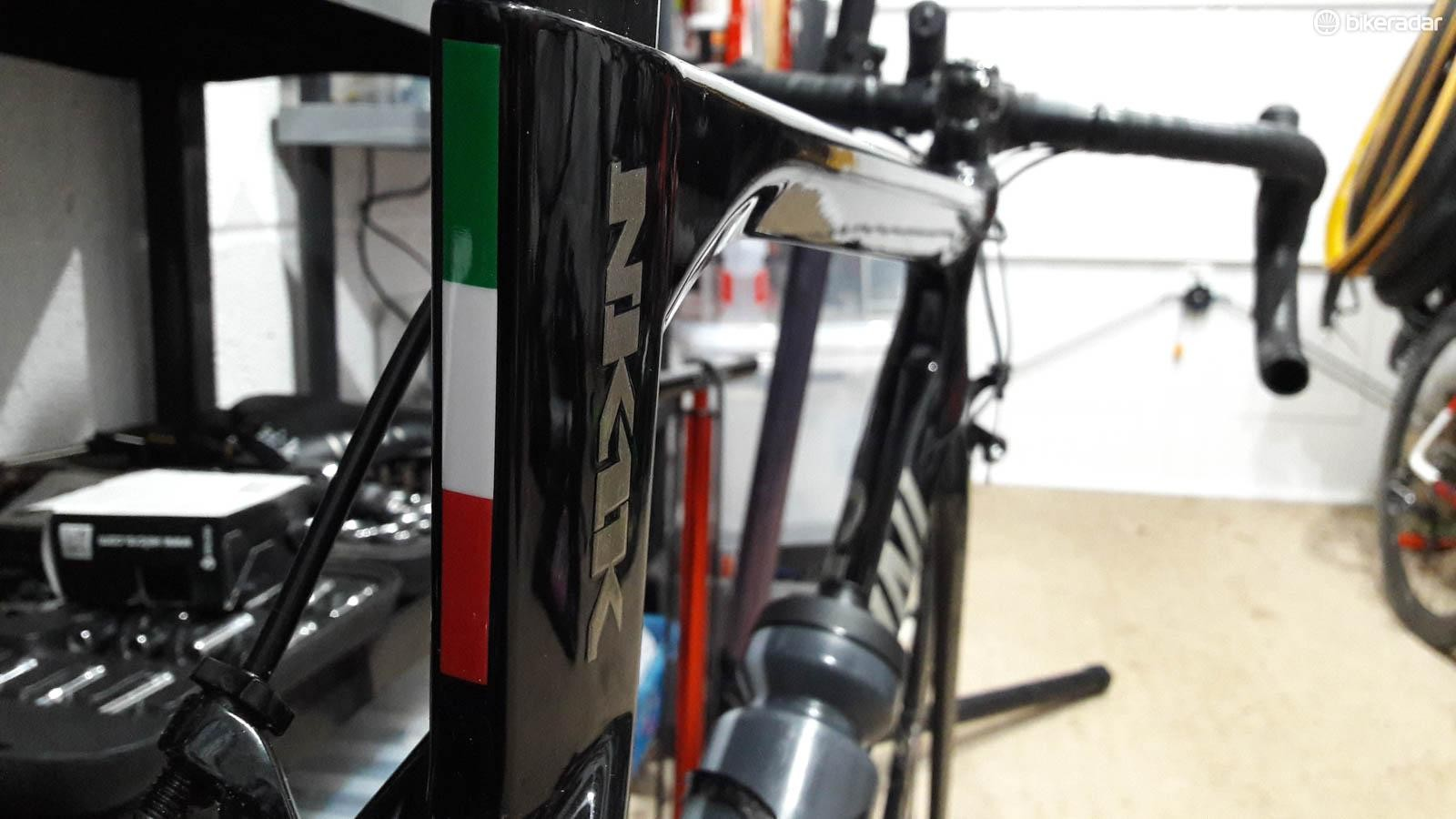 Cipollini's NK1K doesn't have an extravagant build, but it feels really special