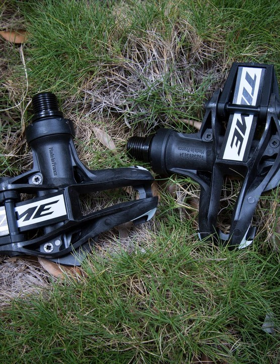 Instead of using a traditional spring, the Xpresso pedals use a carbon leaf spring