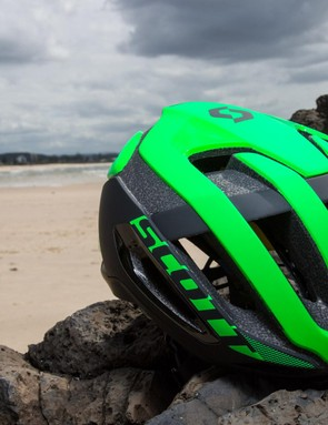The Centric Plus is Scott's latest aero, but vented, lid