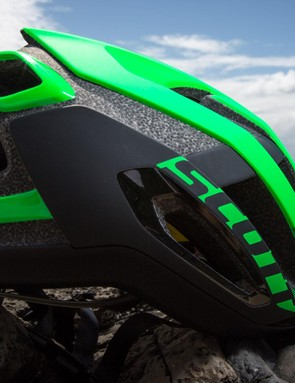 The Centric gets the snub tail profile, which is common of helmets in the category