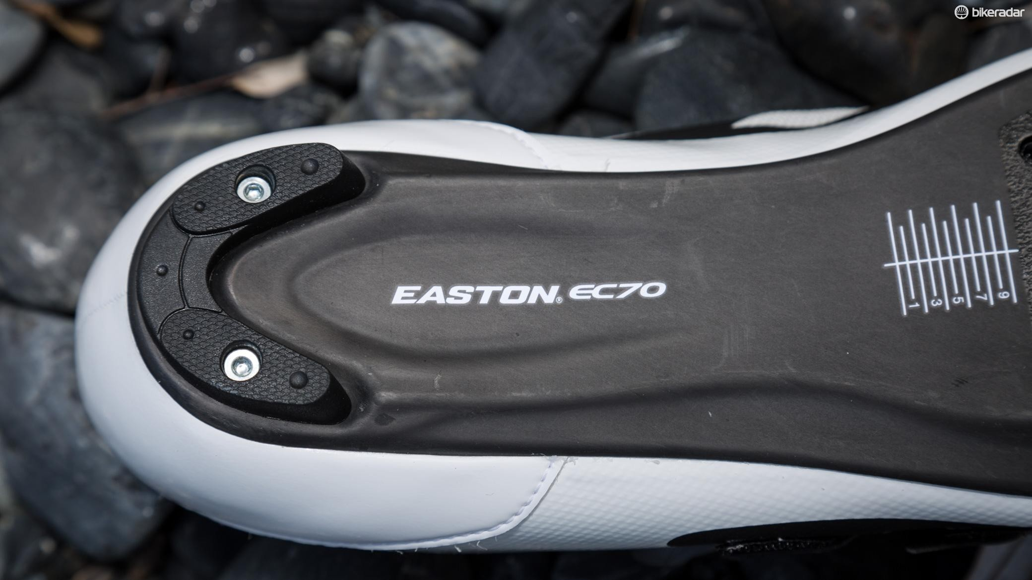 The EC70 plate is the brand's second tier carbon sole. Even still, it's plenty stiff