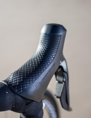 Shimano has changed the ergonomics of the Dura-Ace shifters